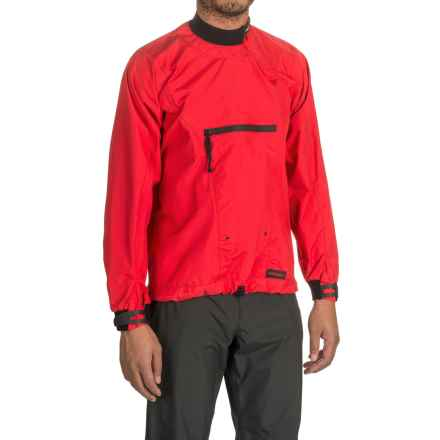 Stohlquist Torrent Splash Jacket - Waterproof in Fireball Red - Closeouts