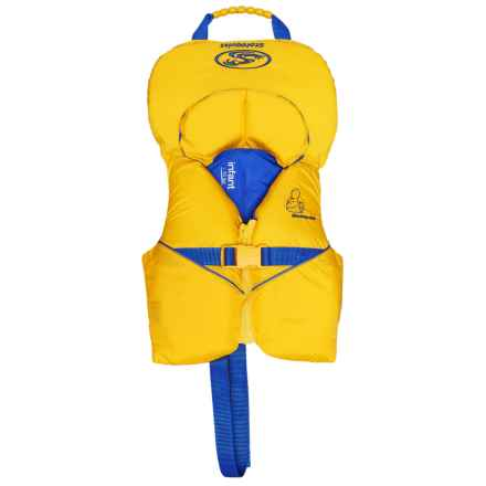 Stohlquist Type II One-Size PFD Life Jacket (For Infants and Toddlers) in Yellow/Blue - Closeouts