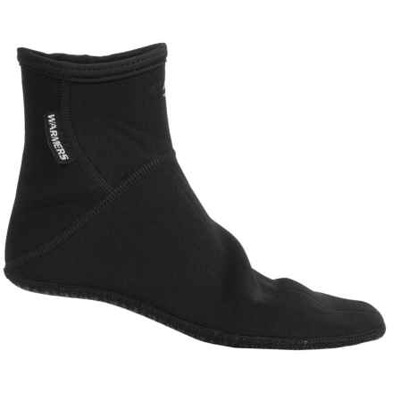 Stohlquist Warmers Neoprene Sandal Socks - Fleece-Lined, Ankle (For Men and Women) in Black - Closeouts