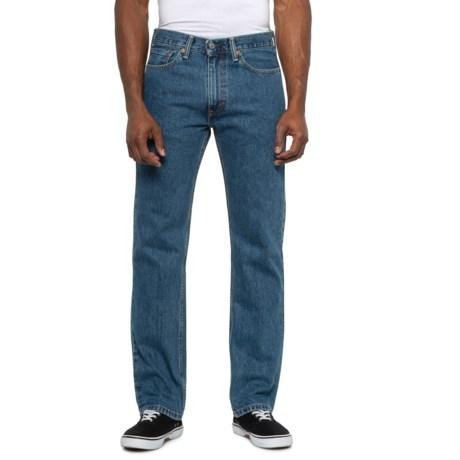 Stonewash 505 Regular Fit Jeans (For Men) - STONEWASH ( )