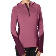 Stonewear Designs Alpha Fleece Hoodie (For Women) in Berry - Closeouts