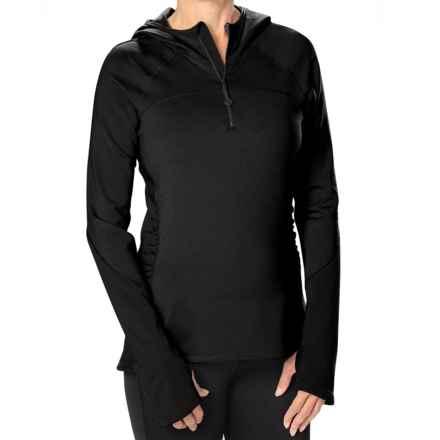Stonewear Designs Alpha Fleece Hoodie (For Women) in Black - Closeouts
