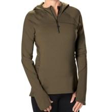 Stonewear Designs Alpha Fleece Hoodie (For Women) in Evergreen - Closeouts