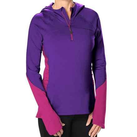 Stonewear Designs Alpha Fleece Hoodie (For Women) in Petunia/Purple Wine - Closeouts