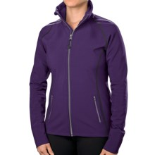 Stonewear Designs Angara Soft Shell Jacket (For Women) in Aubergine - Closeouts