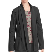 Stonewear Designs Camille Cardigan Sweater - Organic Cotton (For Women) in Black - Closeouts