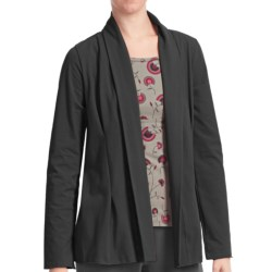 Stonewear Designs Camille Cardigan Sweater - Organic Cotton (For Women) in Punch