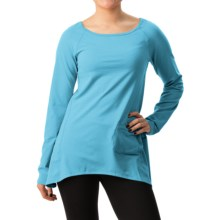 Stonewear Designs Cassanna Pullover Shirt - Long Sleeve (For Women) in Caribe - Closeouts