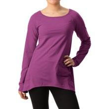 Stonewear Designs Cassanna Pullover Shirt - Long Sleeve (For Women) in Crushed Berry - Closeouts
