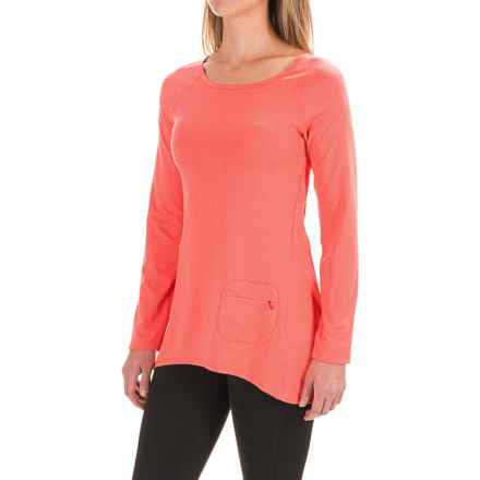 Stonewear Designs Cassanna Shirt - Long Sleeve (For Women) in Hot Melon - Closeouts