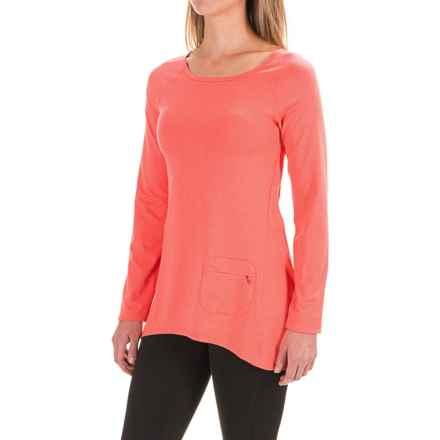 Stonewear Designs Cassanna Shirt - Long Sleeve (For Women) in Hot Melon - Closeouts