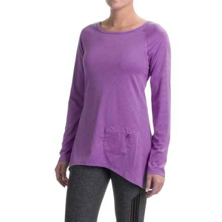 Stonewear Designs Cassanna Shirt - Long Sleeve (For Women) in Violet - Closeouts
