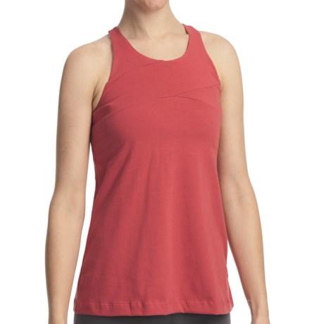 Stonewear Designs Dara Tank Top - Organic Cotton, Racerback (For Women) in Punch