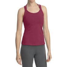 Stonewear Designs Double Cross Tank Top - Organic Cotton (For Women) in Ruby - Closeouts