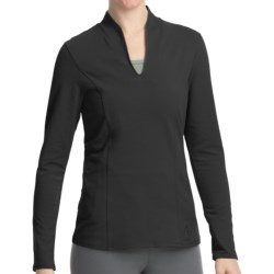 Stonewear Designs Echo Shirt - Organic Cotton, Long Sleeve (For Women) in Black