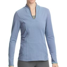 Stonewear Designs Echo Shirt - Organic Cotton, Long Sleeve (For Women) in Stream - Closeouts