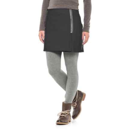 Stonewear Designs Eldo Wrap Skirt (For Women) in Black - Closeouts