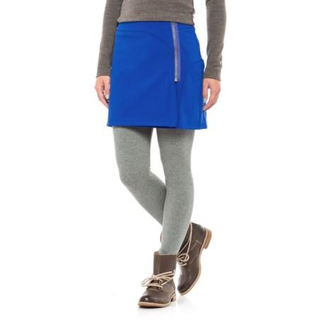 Stonewear Designs Eldo Wrap Skirt (For Women) in Twilight