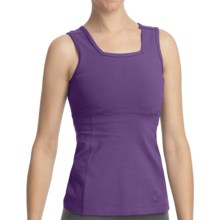 Stonewear Designs Electra Tank Top - Organic Cotton, Built-In Shelf Bra (For Women) in Concord - Closeouts