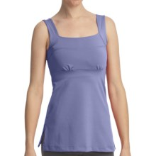 Stonewear Designs Felicity Dryflex Tank Top - Built-In Shelf Bra, Empire Waist (For Women) in Stream - Closeouts