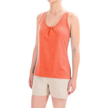 Stonewear Designs Fuse Tank Top - Racerback (For Women) in Hot Melon - Closeouts