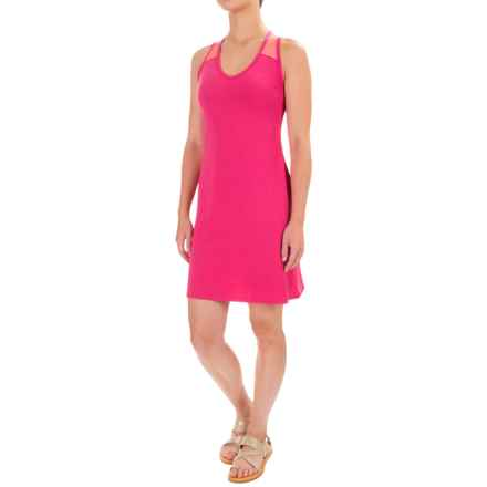 Stonewear Designs Getaway Dress - Racerback, Sleeveless (For Women) in Barberry - Closeouts