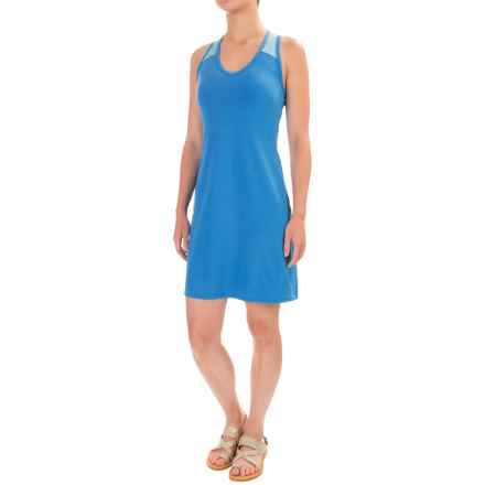 Stonewear Designs Getaway Dress - Racerback, Sleeveless (For Women) in Pacific - Closeouts