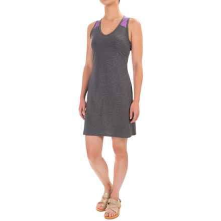 Stonewear Designs Getaway Dress - Racerback, Sleeveless (For Women) in Stone - Closeouts
