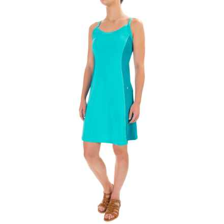 Stonewear Designs Ladderback Dress - Built-in Bra, Sleeveless (For Women) in Robin Egg - Closeouts