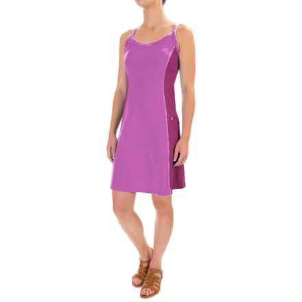 Stonewear Designs Ladderback Dress - Built-in Bra, Sleeveless (For Women) in Tryst - Closeouts