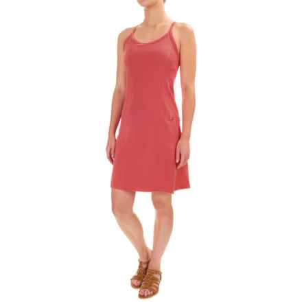 Stonewear Designs Ladderback Dress - Built-in Bra, Sleeveless (For Women) in Watermelon - Closeouts