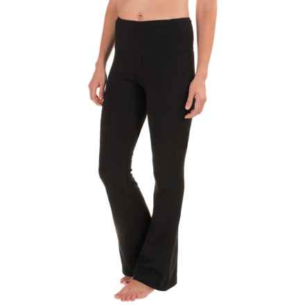 Stonewear Designs Liberty Bootcut Leggings - Long (For Women) in Black - Closeouts