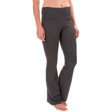 Stonewear Designs Liberty Bootcut Leggings - Long (For Women) in Heather Gray - Closeouts