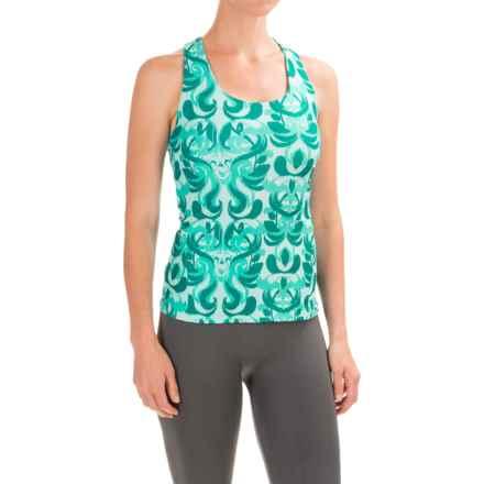 Stonewear Designs Lyra Tank Top - Shelf Bra (For Women) in Aqua Paradise - Closeouts