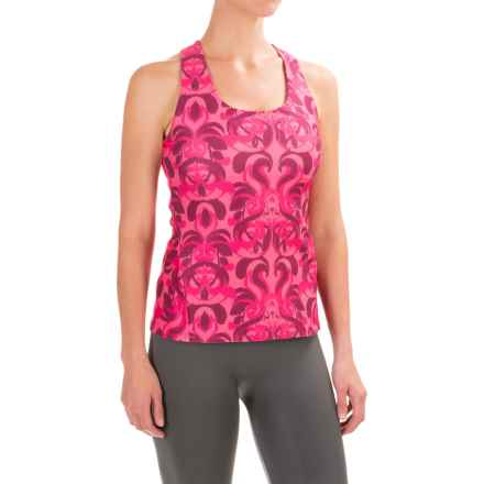Stonewear Designs Lyra Tank Top - Shelf Bra (For Women) in Barberry Paradise - Closeouts