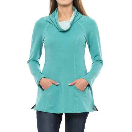 Stonewear Designs Maha Tunic Shirt - Long Sleeve (For Women) in Vine Heather - Closeouts