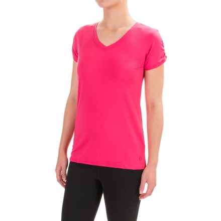 Stonewear Designs Shimmy T-Shirt - Short Sleeve (For Women) in Barberry - Closeouts