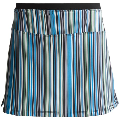 Stonewear Designs Skipper Skort - Built-In Shorts (For Women) in Cool Stripe