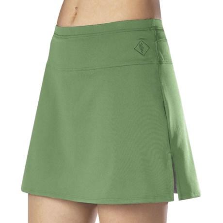 Stonewear Designs Skipper Skort - Built-In Shorts (For Women) in Grass