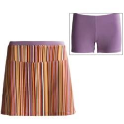 Stonewear Designs Skipper Skort - Built-In Shorts (For Women) in Hot Stripe