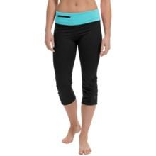 Stonewear Designs Sprinter Capris (For Women) in Black/Robin Egg - Closeouts