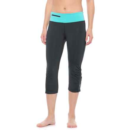 Stonewear Designs Sprinter Capris (For Women) in Black/Robin - Closeouts