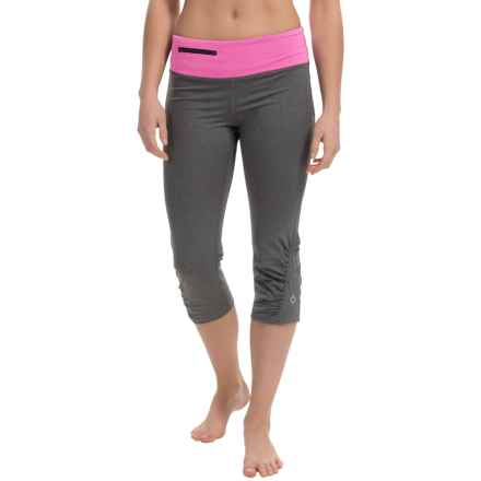 Stonewear Designs Sprinter Capris (For Women) in Heather Gray/Tryst - Closeouts