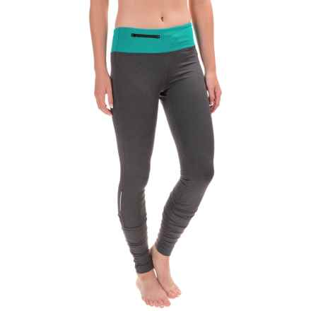 Stonewear Designs Sprinter Tights (For Women) in Heather/Vine - Closeouts