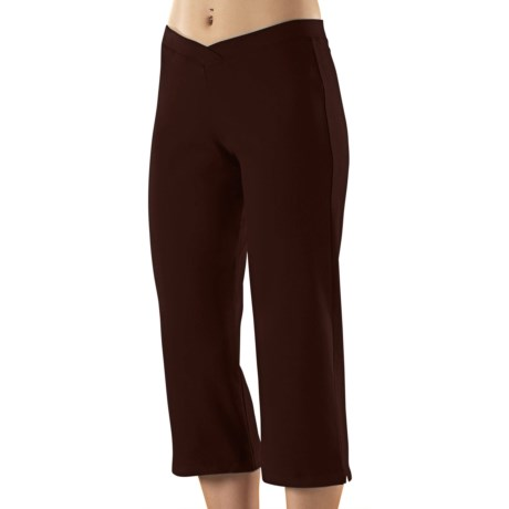 Stonewear Designs Stonewear Crop Pants - Organic Cotton (For Women) in Mink