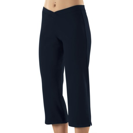 Stonewear Designs Stonewear Crop Pants - Organic Cotton (For Women) in Navy