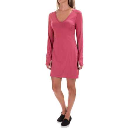Stonewear Designs Veronica Dress - Long Sleeve (For Women) in Jelly - Closeouts