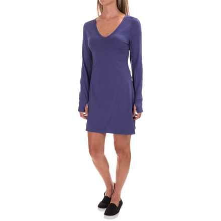Stonewear Designs Veronica Dress - Long Sleeve (For Women) in Twilight - Closeouts