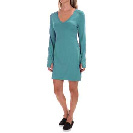 Stonewear Designs Veronica Dress - Long Sleeve (For Women) in Vine - Closeouts