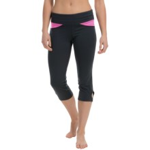 Stonewear Designs Volt Capris (For Women) in Black/Tryst - Closeouts